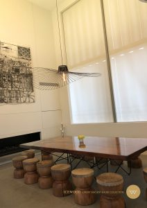 Cocoon House Ancient Kauri table