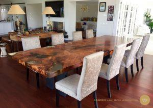Kauri dining table
