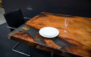 Delta Ancient Kauri table