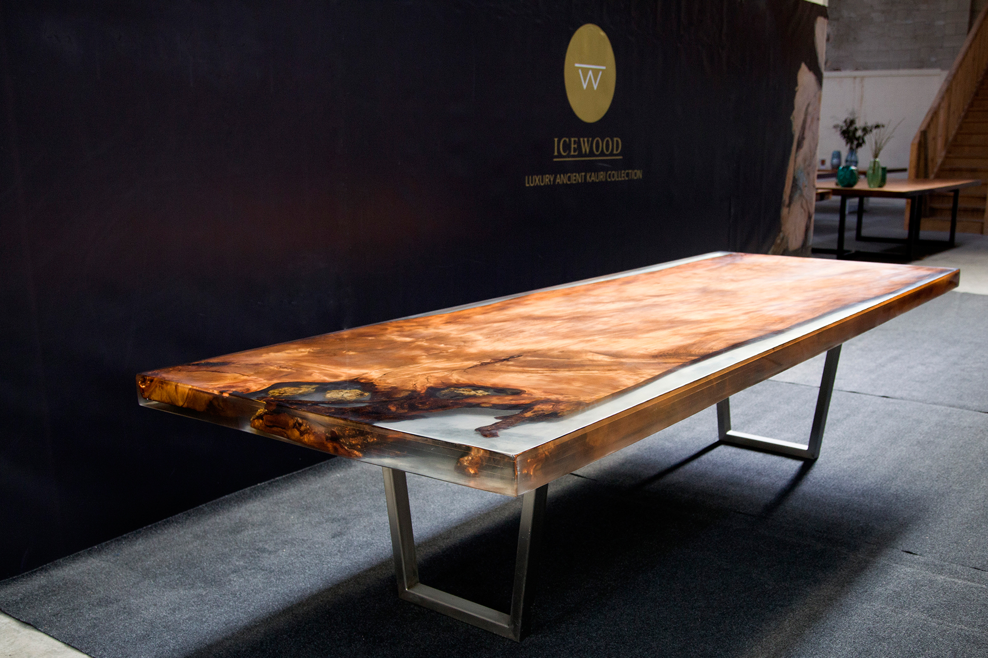 Floating Dream Ancient Kauri table