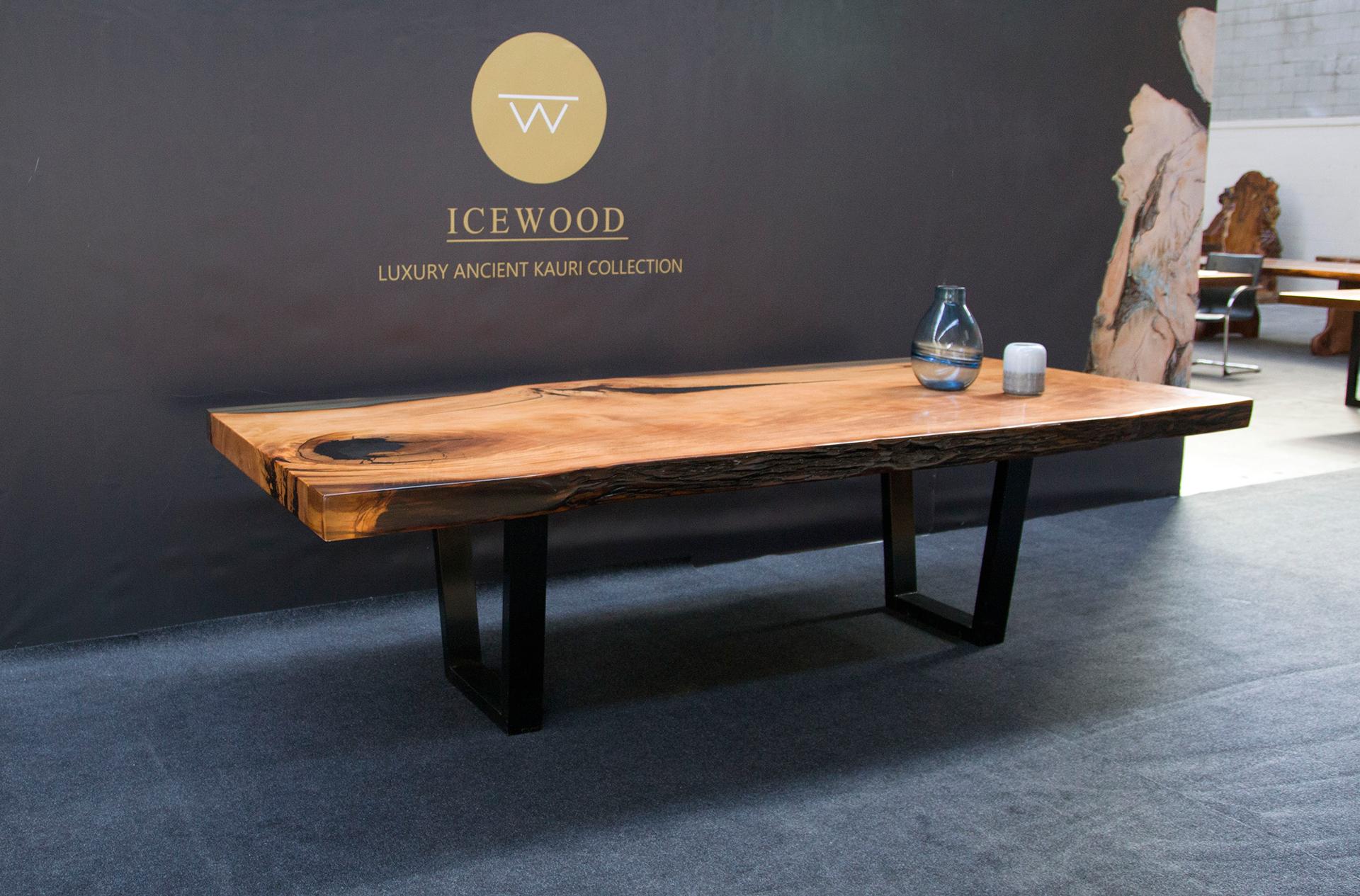 Golden Illusion Ancient Kauri table
