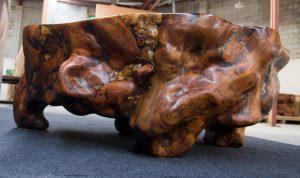 Hyperion Ancient Kauri table