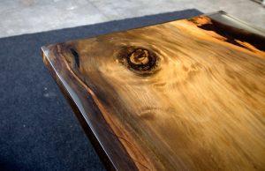 Icewood Ancient Kauri dining table