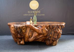 Oceanus Ancient Kauri table