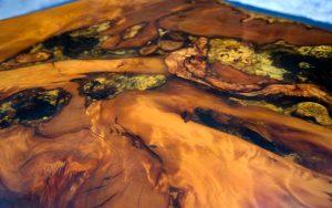 Tethys Ancient Kauri table