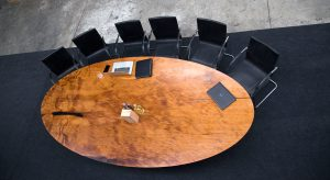 The Oval Ancient Kauri Table