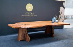 The Whale Ancient Kauri table