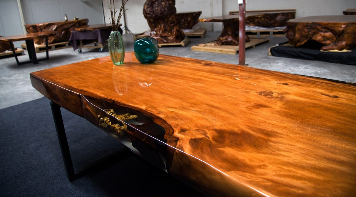 The Orchid Ancient Kauri table