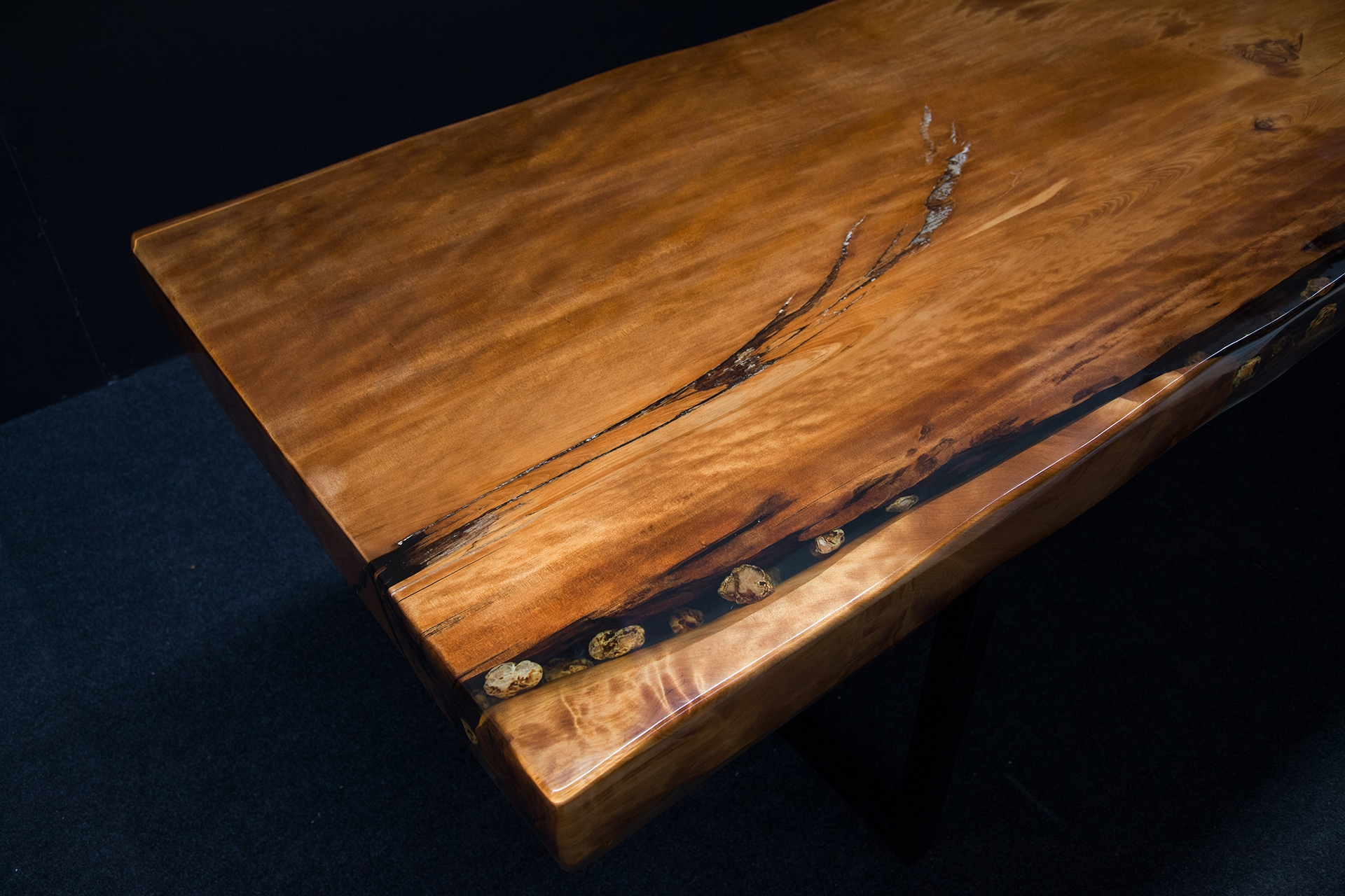 Orchid Ancient Kauri table