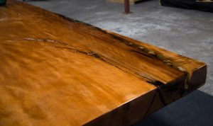 The Orchid Ancient Kauri dining table