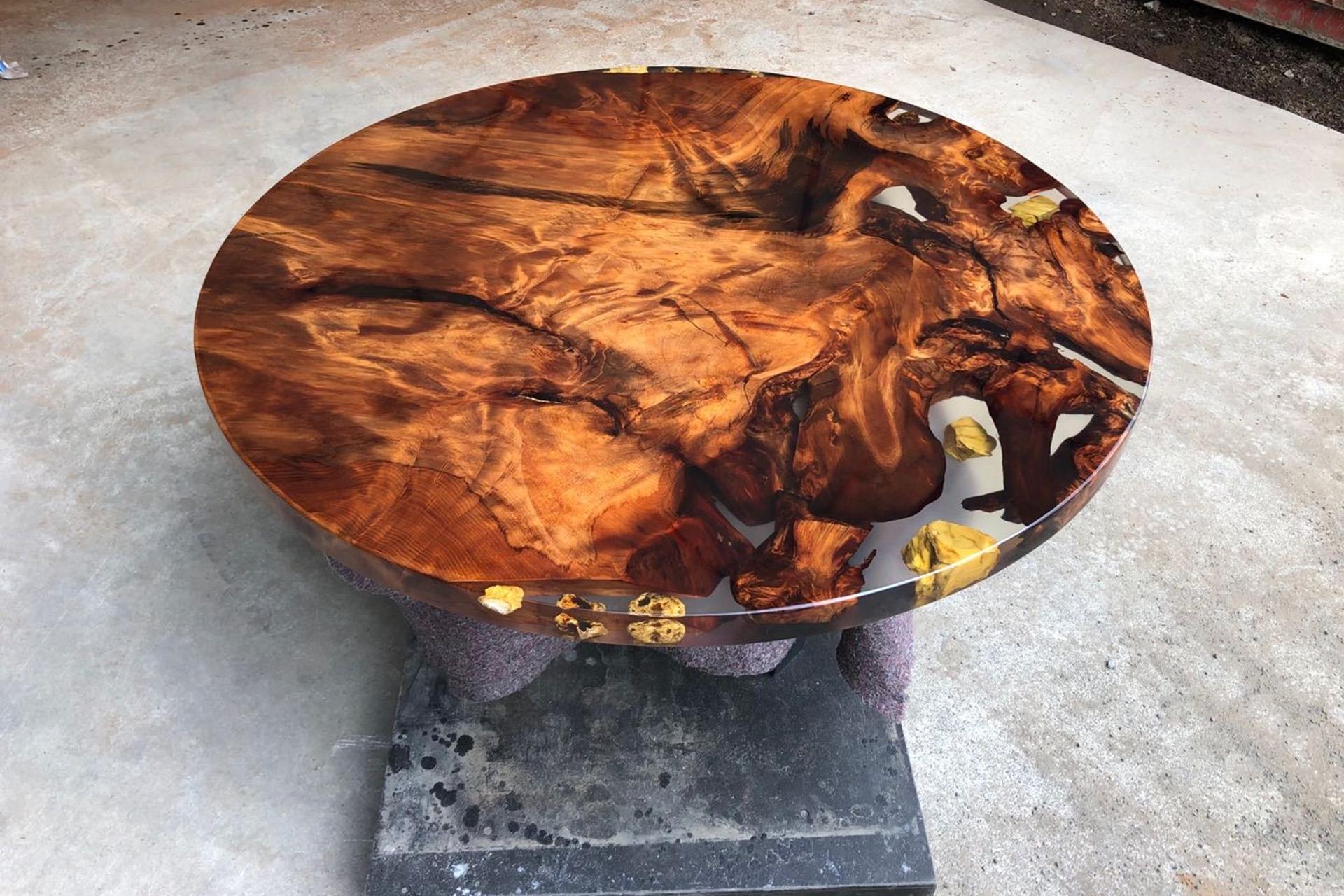 Golden Age Icewood Kauri table